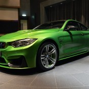 Java Green BMW M4-2