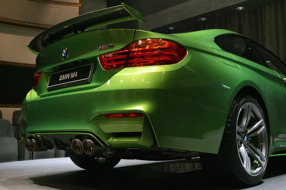 Fastest Car In The World 2015 >> Custom Java Green BMW M4 at BMWAD