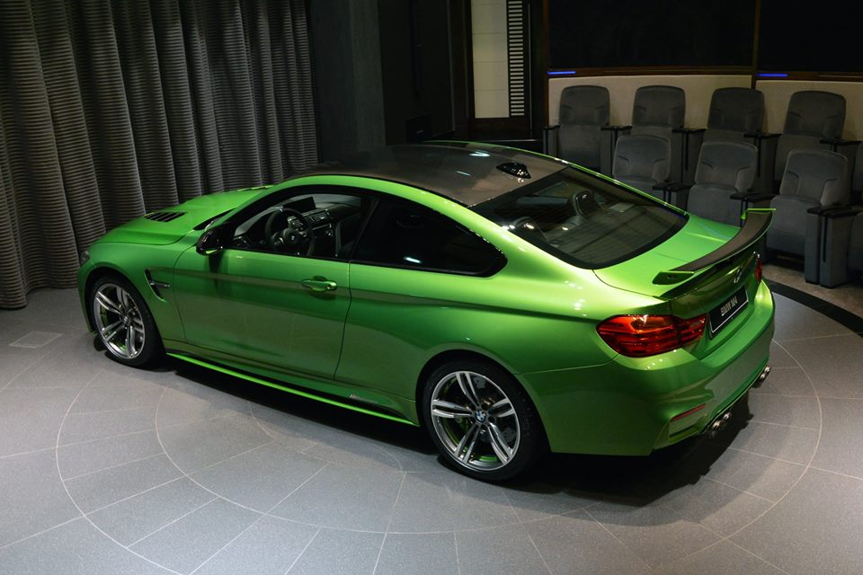 Custom Java Green Bmw M4 At Bmwad