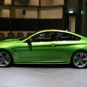 Java Green BMW M4-3