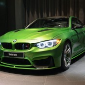 Java Green BMW M4-5