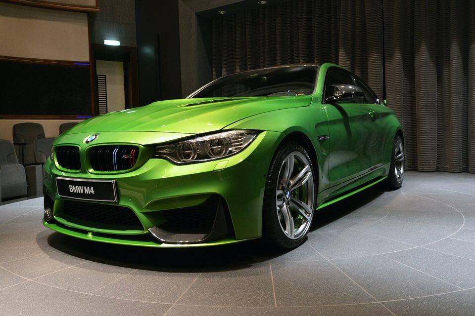 Custom Java Green Bmw M4 At Bmwad