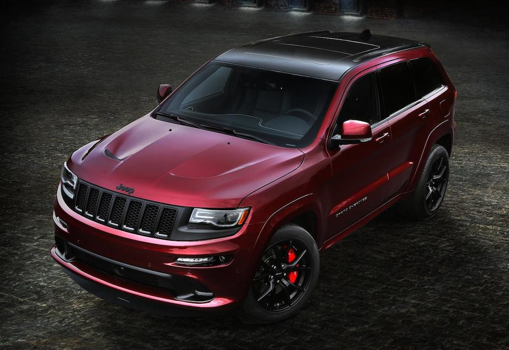official 2016 jeep grand cherokee srt night. Black Bedroom Furniture Sets. Home Design Ideas