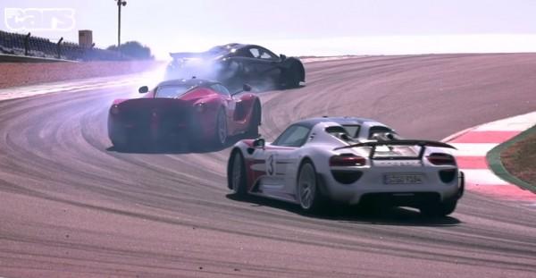 LaFerrari v Porsche 918 v McLaren P1