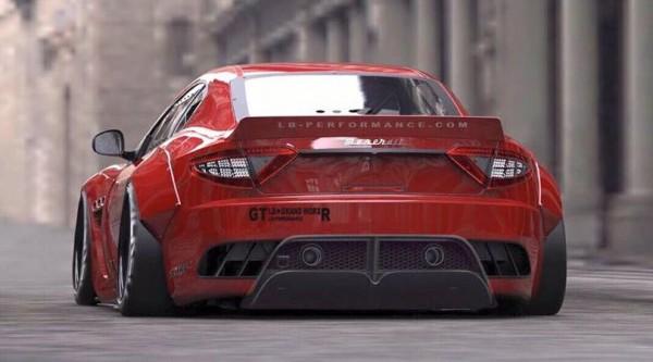 Liberty Walk Maserati GranTurismo-3