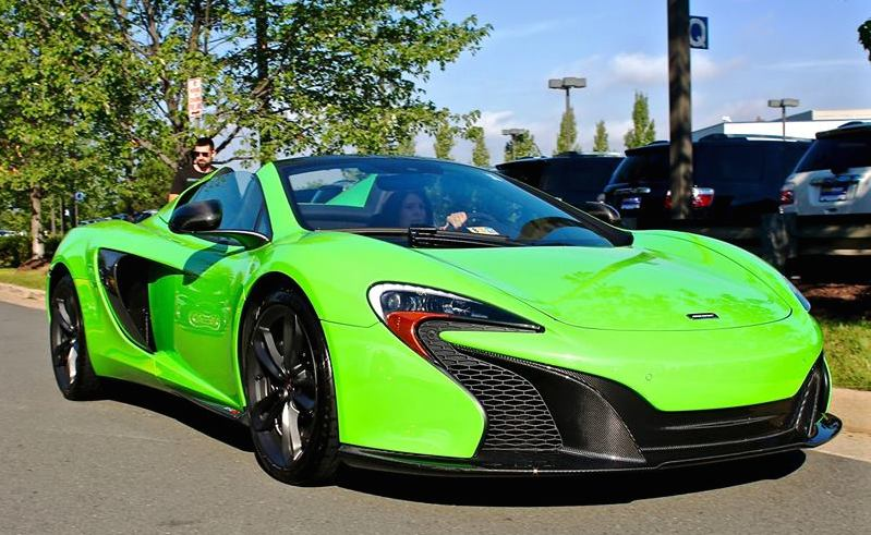 Gallery Mantis Green Mclaren 650s