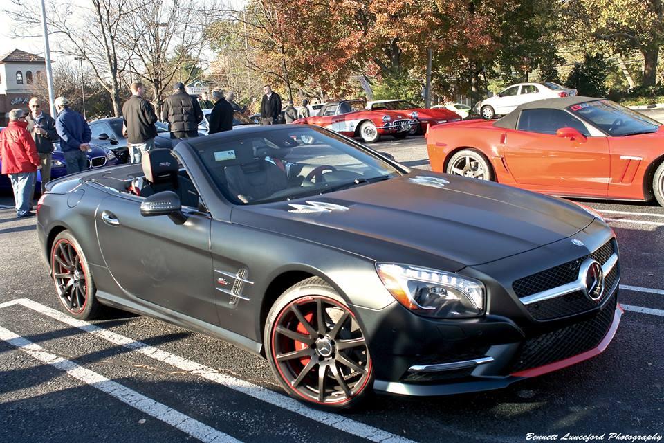 Spotlight mercedes sl mille miglia 417 edition for Mercedes benz matte paint