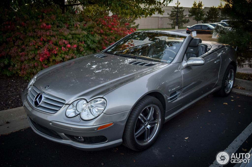 mercedes sl55 amg spotted in kansas. Black Bedroom Furniture Sets. Home Design Ideas