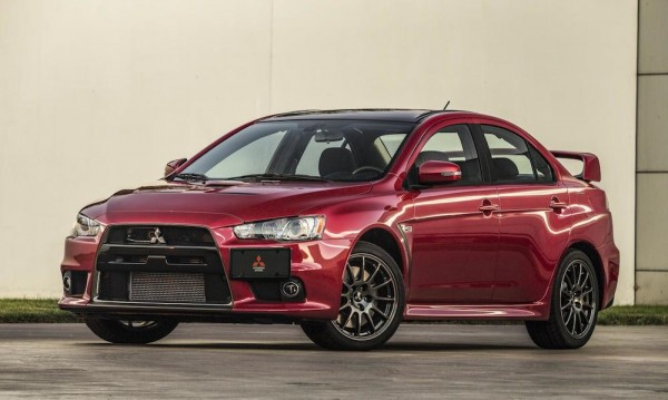 Mitsubishi Lancer Evolution Final 1 600x359 at Mitsubishi Lancer Evolution Final Edition Up for Charity Auction