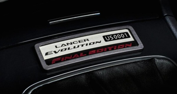 Mitsubishi Lancer Evolution Final 2 600x320 at Mitsubishi Lancer Evolution Final Edition Up for Charity Auction