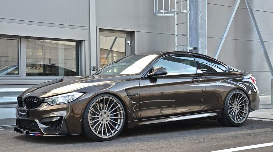 Tuningcars Tricked Out Pyritbraun Bmw M4