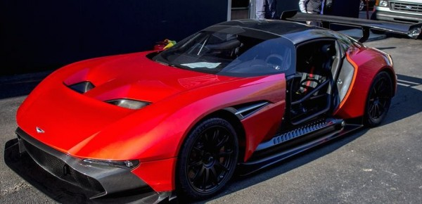 Red Aston Martin Vulcan 0 600x290 at Red Aston Martin Vulcan Delivered in U.S.