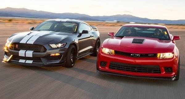 Shelby GT350R vs Camaro Z28