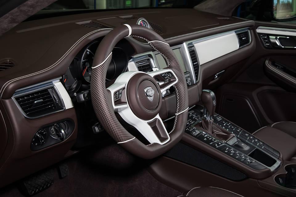 Fancy Porsche Macan Interior By Techart