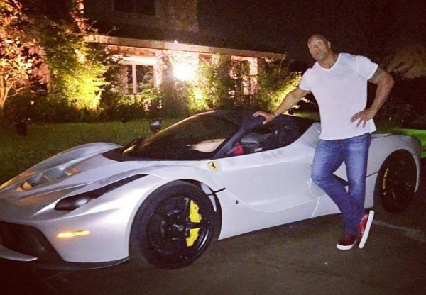 The Rock Fancies LaFerrari 600x416 at The Rock Fancies a LaFerrari But Doesnt Fit In!