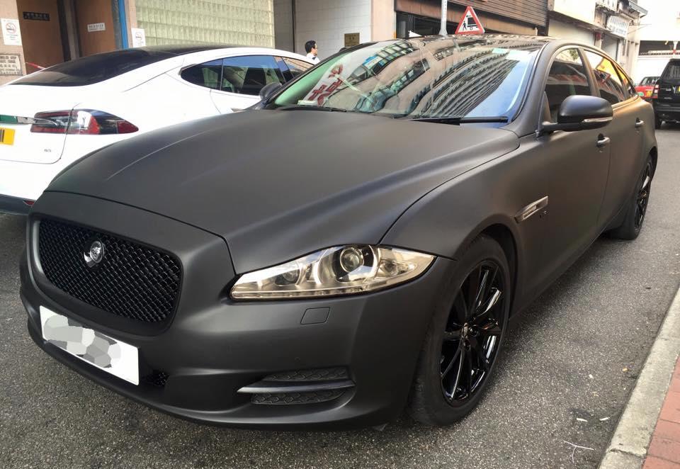 Jaguar Xj Matte Black