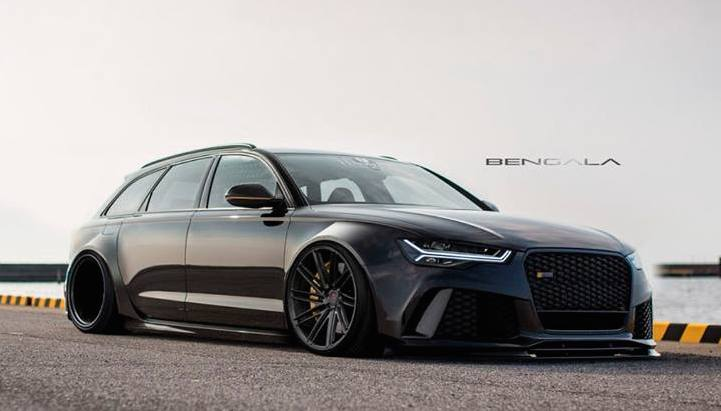 Virtual Tuning Bengala Audi Rs6 Wide Body