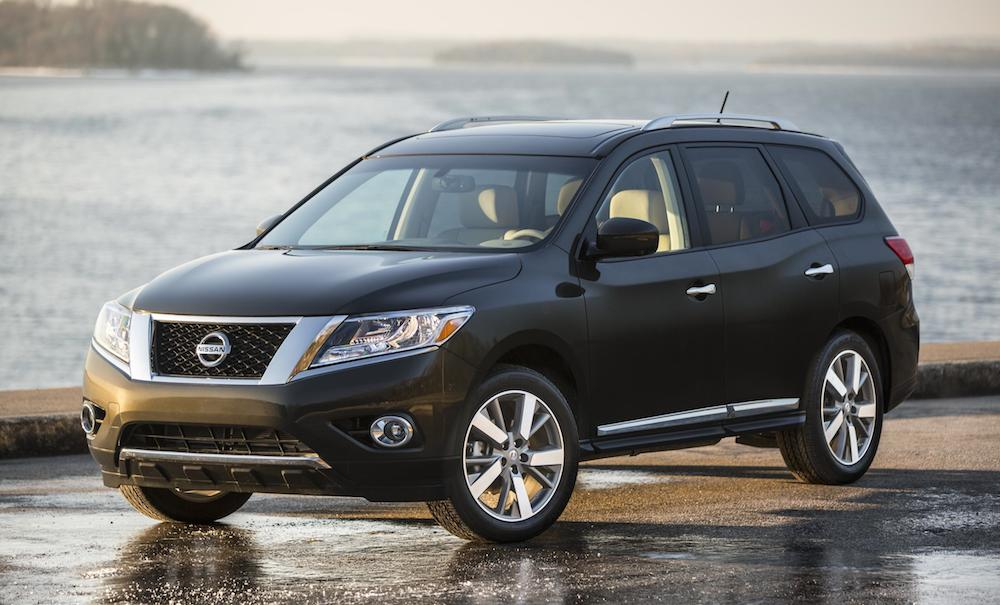 2016 nissan pathfinder and titan priced. Black Bedroom Furniture Sets. Home Design Ideas