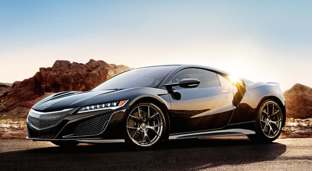 2017 acura nsx pricing announced. Black Bedroom Furniture Sets. Home Design Ideas