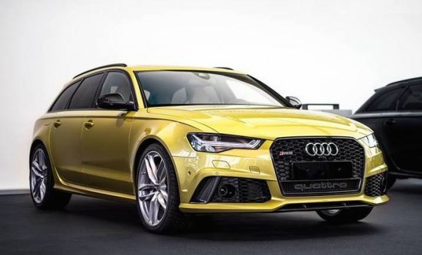 Austin Yellow Audi RS6-0
