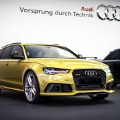 Austin Yellow Audi RS6-3