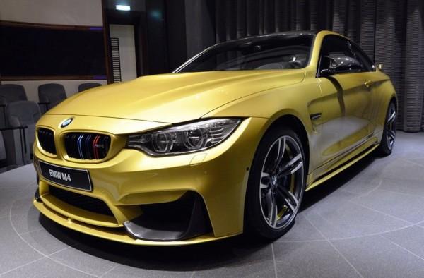 Austin Yellow BMW M4 AD-0