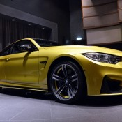 Austin Yellow BMW M4 AD-1