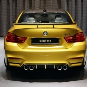 Austin Yellow BMW M4 AD-13