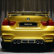 Austin Yellow BMW M4 AD-14