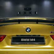 Austin Yellow BMW M4 AD-16