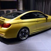 Austin Yellow BMW M4 AD-18