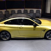 Austin Yellow BMW M4 AD-19