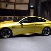 Austin Yellow BMW M4 AD-2