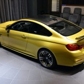 Austin Yellow BMW M4 AD-21