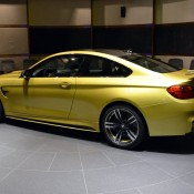 Austin Yellow BMW M4 AD-3