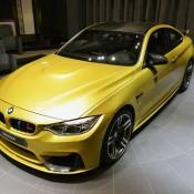 Austin Yellow BMW M4 AD-4