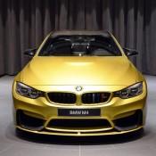Austin Yellow BMW M4 AD-5