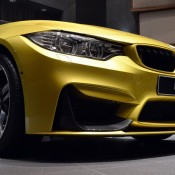 Austin Yellow BMW M4 AD-6