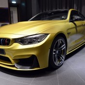 Austin Yellow BMW M4 AD-7