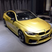 Austin Yellow BMW M4 AD-8