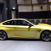 Austin Yellow BMW M4 AD-9