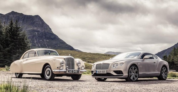 Bentley Continental Meets R-Type-0
