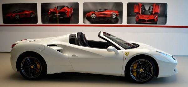 Bianco Avus Ferrari 488 Spider-0