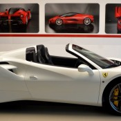 Bianco Avus Ferrari 488 Spider-9