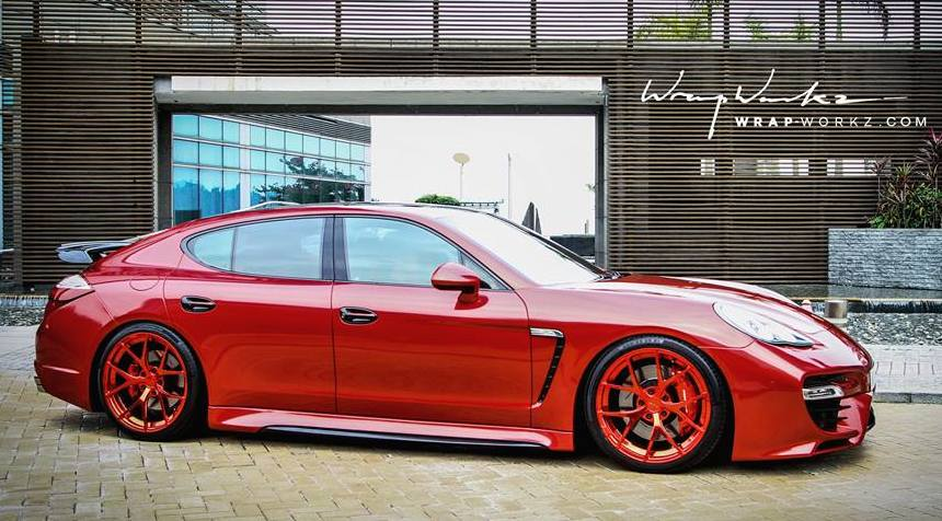 Custom Porsche Panamera Turbo By Reinart Design
