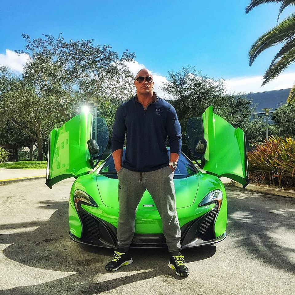 Dwayne Johnson And The Supercars Of 'Ballers'