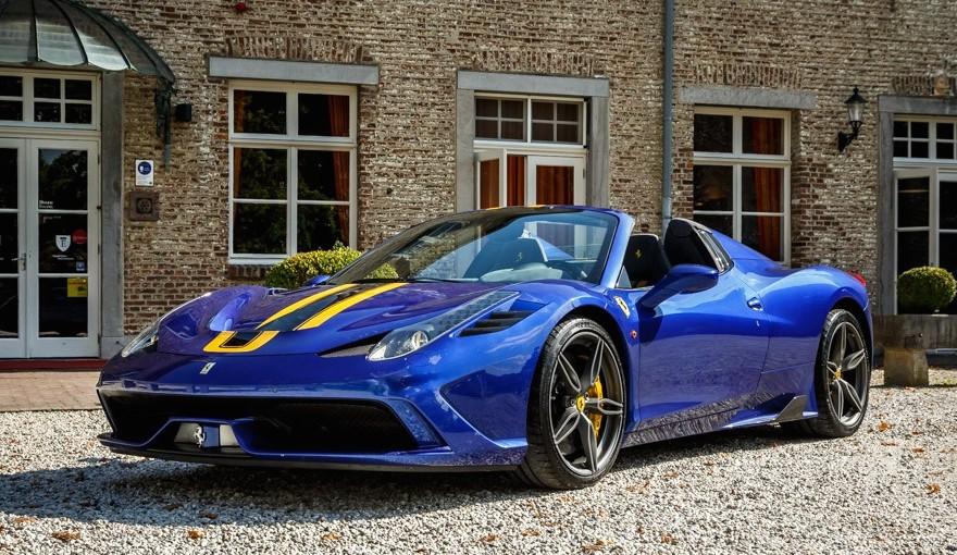 Meet The Ferrari 458 Speciale A Interceptor Ii