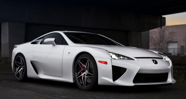 Lexus LFA PUR 0 600x321 at Lexus LFA on PUR Wheels Is Pure Eye Candy