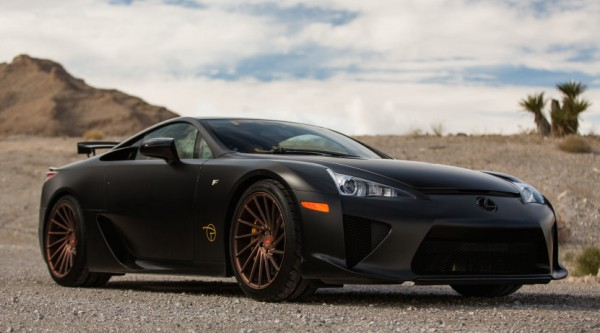 Lexus LFA Vossen 0 600x333 at Gallery: Lexus LFA on Vossen Wheels
