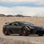 Lexus LFA Vossen 3 175x175 at Gallery: Lexus LFA on Vossen Wheels
